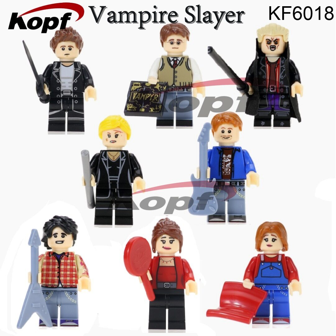 Kopf Third Party Series - KF6018 Vampire Slay Minifigures