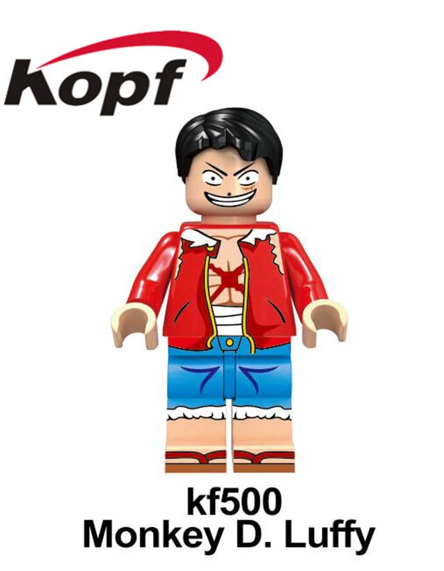 Kopf Third Party Series - KF6037 One Piece Minifigures