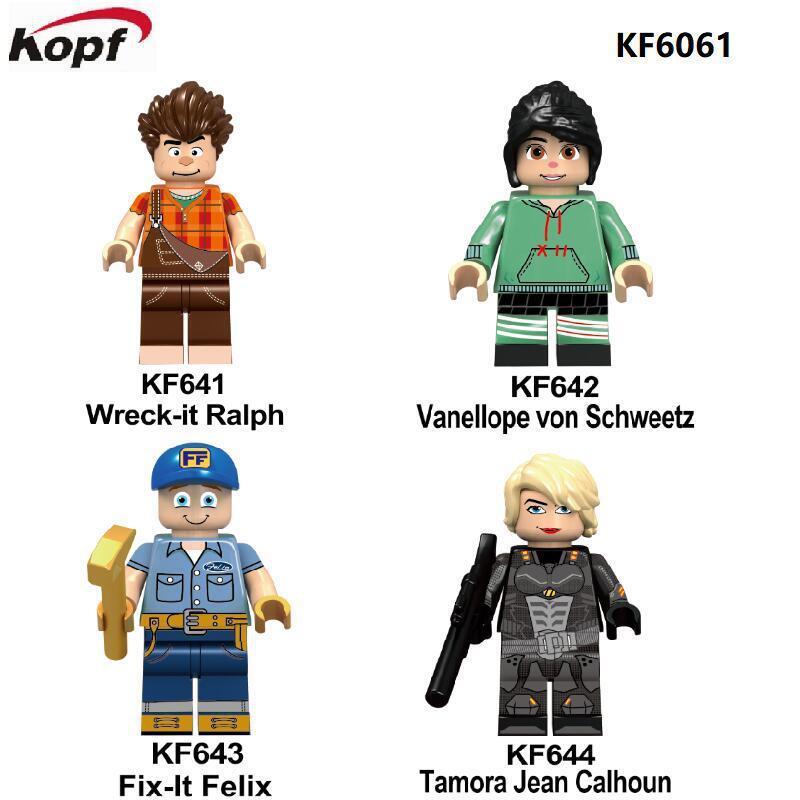 Kopf Third Party Series - KF6061 Innocent Destruction King Series Ralph Minifigures