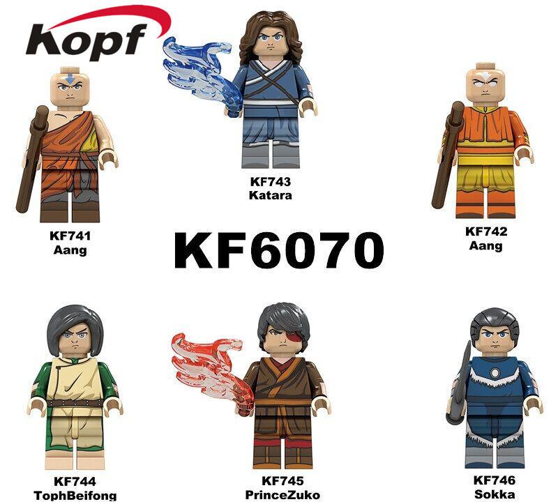 Kopf Third Party Series - KF6070 Avatar Katara Minifigures