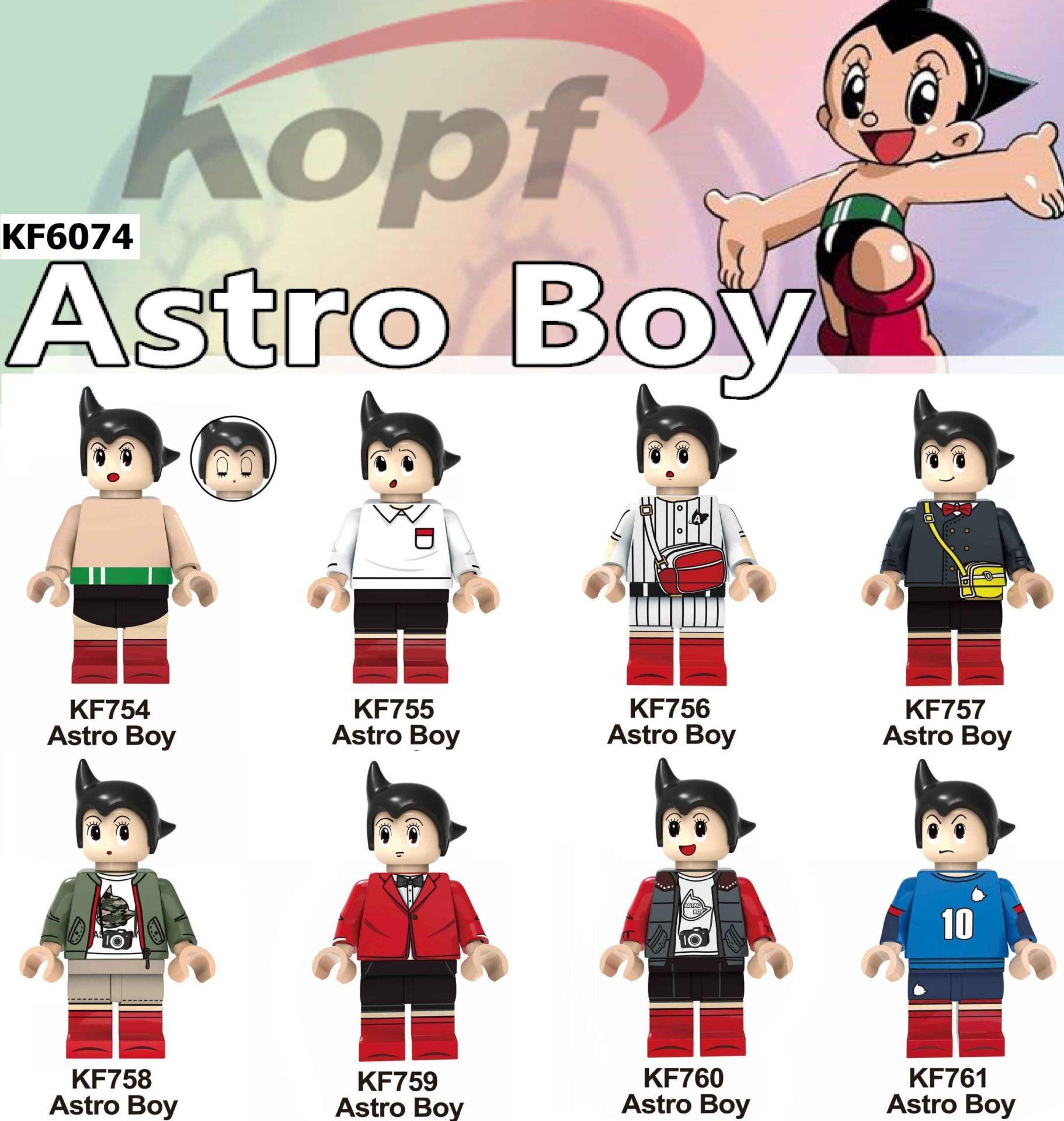 Kopf Third Party Series - KF6074 Astro Boy Minifigures