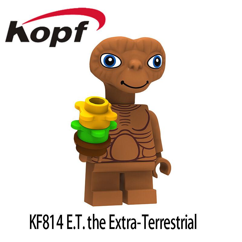 Kopf Third Party Series - KF814 E.T.Extra-Terrestrial Minifigures