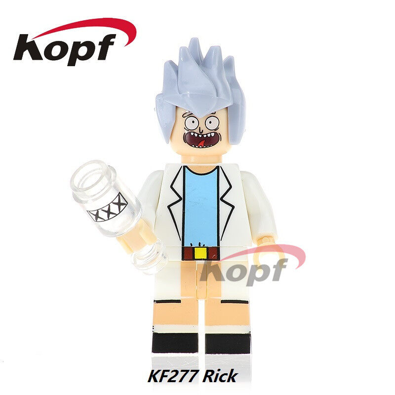 Kopf Third Party Series - KF277 Character RICK minifigures