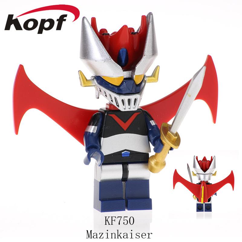 Kopf Third Party Series - KF750 Mazinkaiser Minifigures
