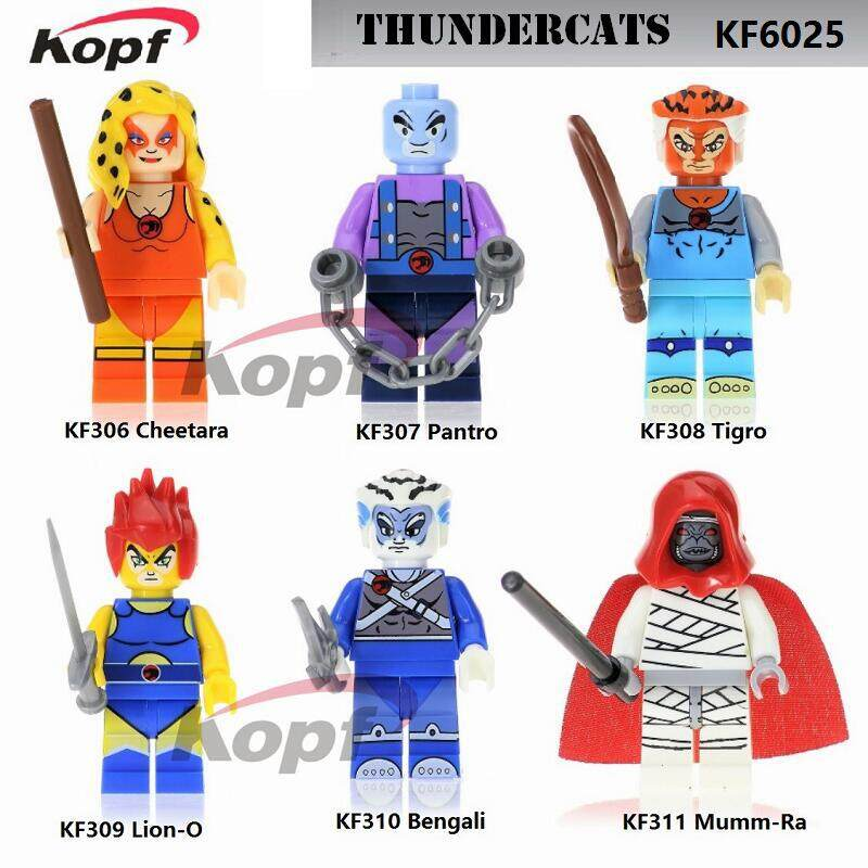 Kopf Third Party Series - KF6025 Thundercats Minifigures