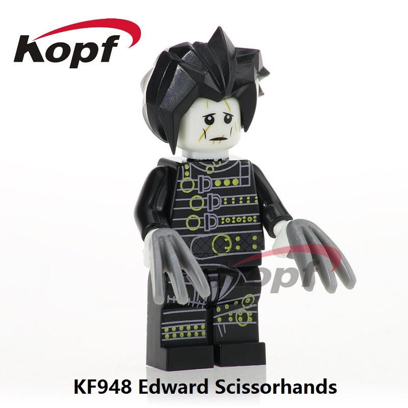 Kopf Third Party Series - KF948 Edward Scissorhands Assembled Minifigures