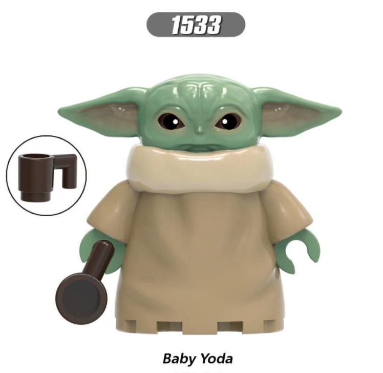 XINH Star Wars Baby Yoda Small Particles For Children Minifigures
