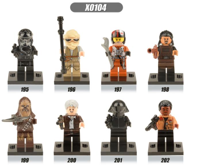 XINH Star Wars The Force Awakens Minifigures
