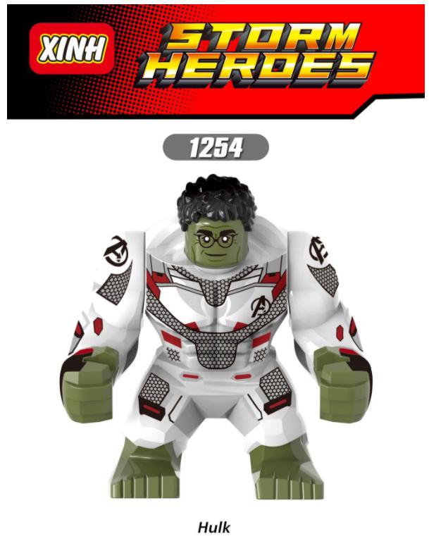 XINH Super Hero Figures X1254 Hulk Minifigures