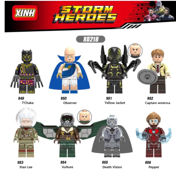 XINH Super Hero Figures X0218 Macrovenom Toxin Minifigures