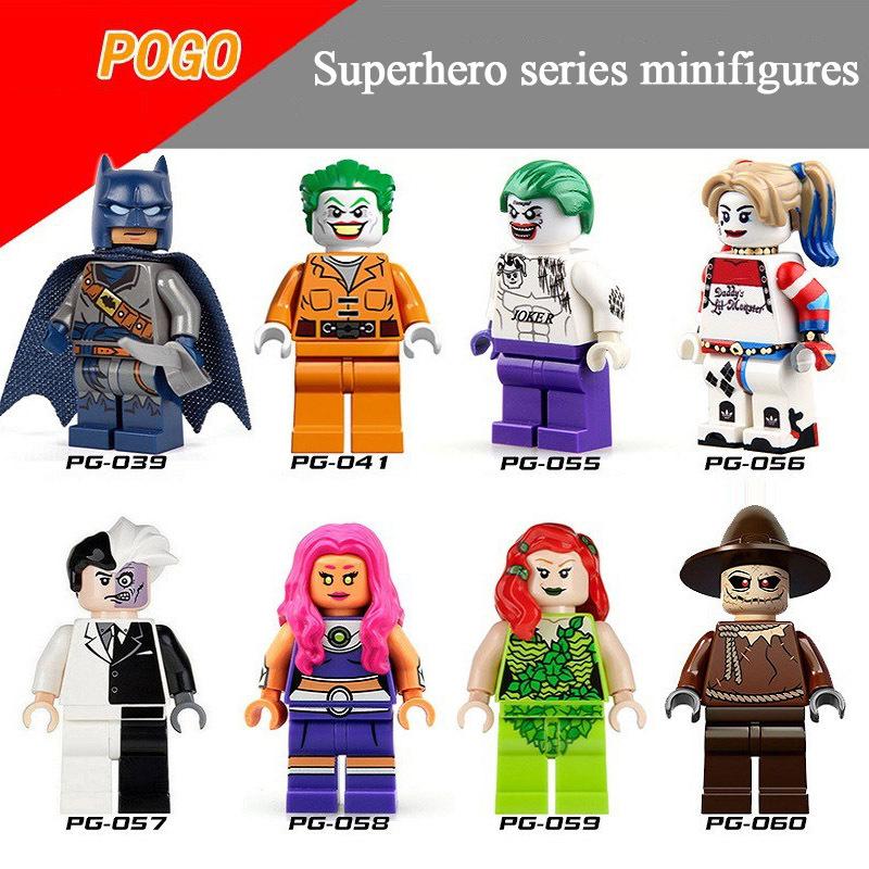 Pogo Superhero Series - PG8013 DC Suicide Squad Scarecrow Batman Duplex Minifigures