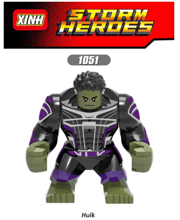 XINH Super Hero Figures XH1051 Hulk Minifigures