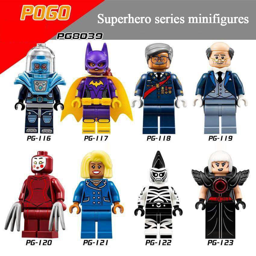 Pogo Superhero Series - PG8039 Frozen Batgirl Afu Minifigures