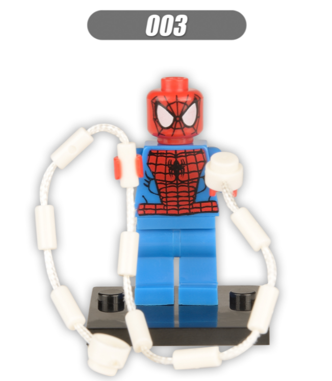 XINH Super Hero Figures X003 The Avengers Single Minifigures
