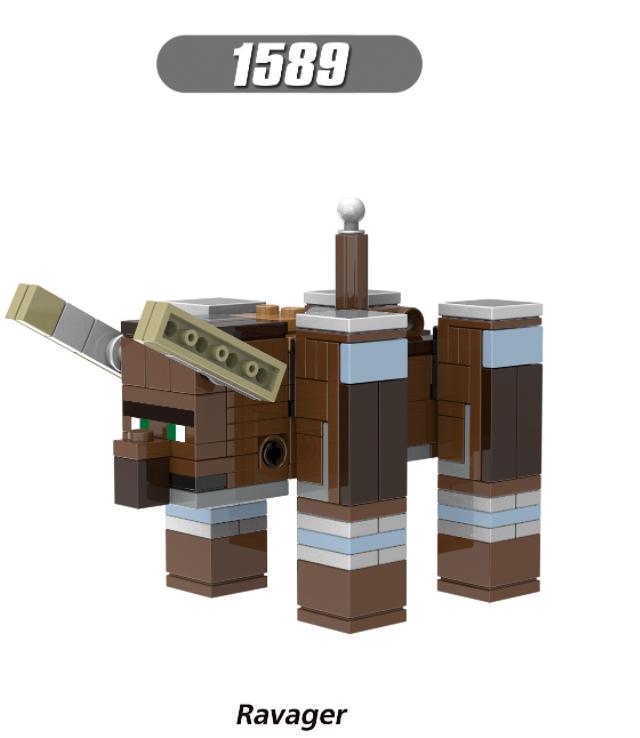 XINH Super Hero Figures X1589 Ravager Minifigures