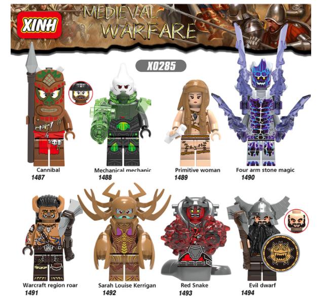 XINH Super Hero Figures X0285 Wand Of Mind XINH Minifigures