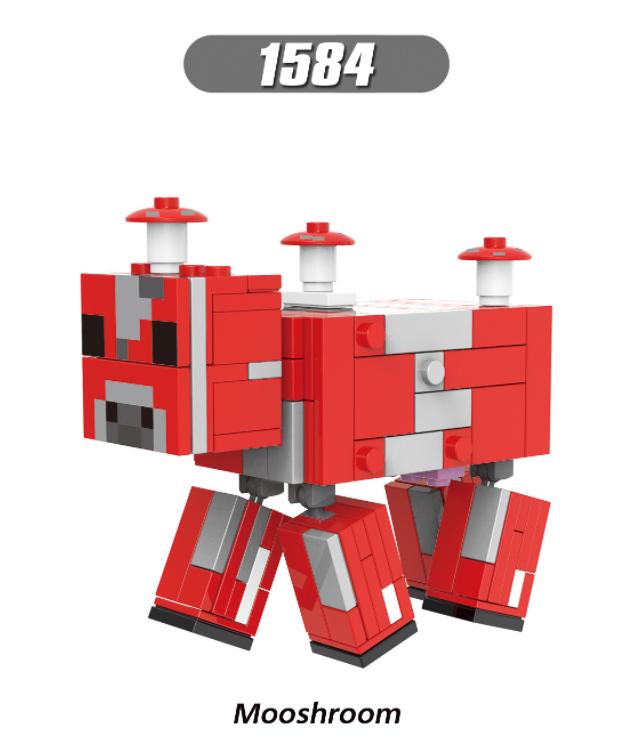 XINH Super Hero Figures X1584 Mooshroom Minifigures
