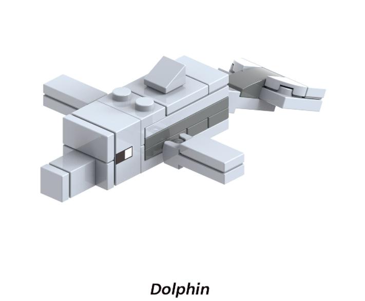 XINH Super Hero Figures X1613 Dolphin Minifigures