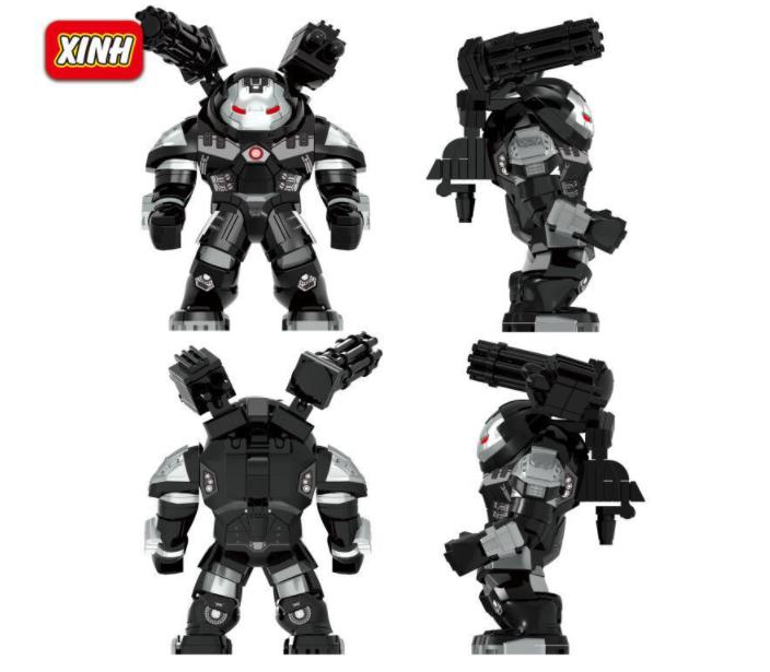 XINH Super Hero Figures X1159 War Machine Minifigures