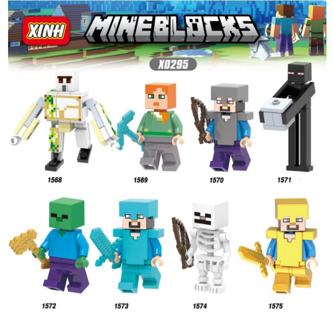XINH Super Hero Figures X0295 I'm A World Boy Minifigures