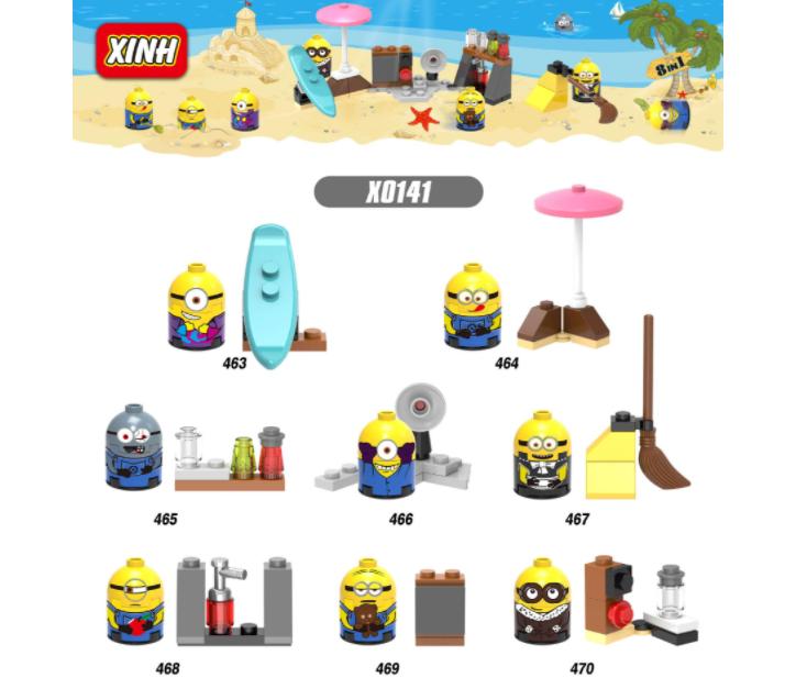 XINH Super Hero Figures X0141 Anime Myth Minifigures