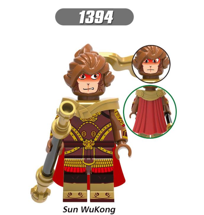 XINH Super Hero Figures X0274 Anime Myth Minifigures