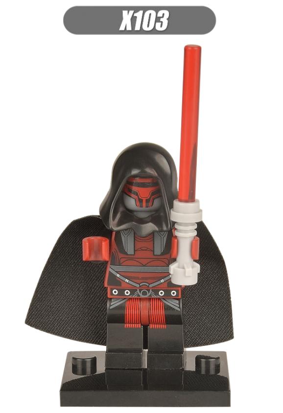 XINH Super Hero Figures X103 Darth Vader Darth Raven Minifigures