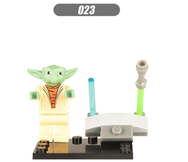 XINH Super Hero Figures X023 Master Yoda Puzzle Minifigures