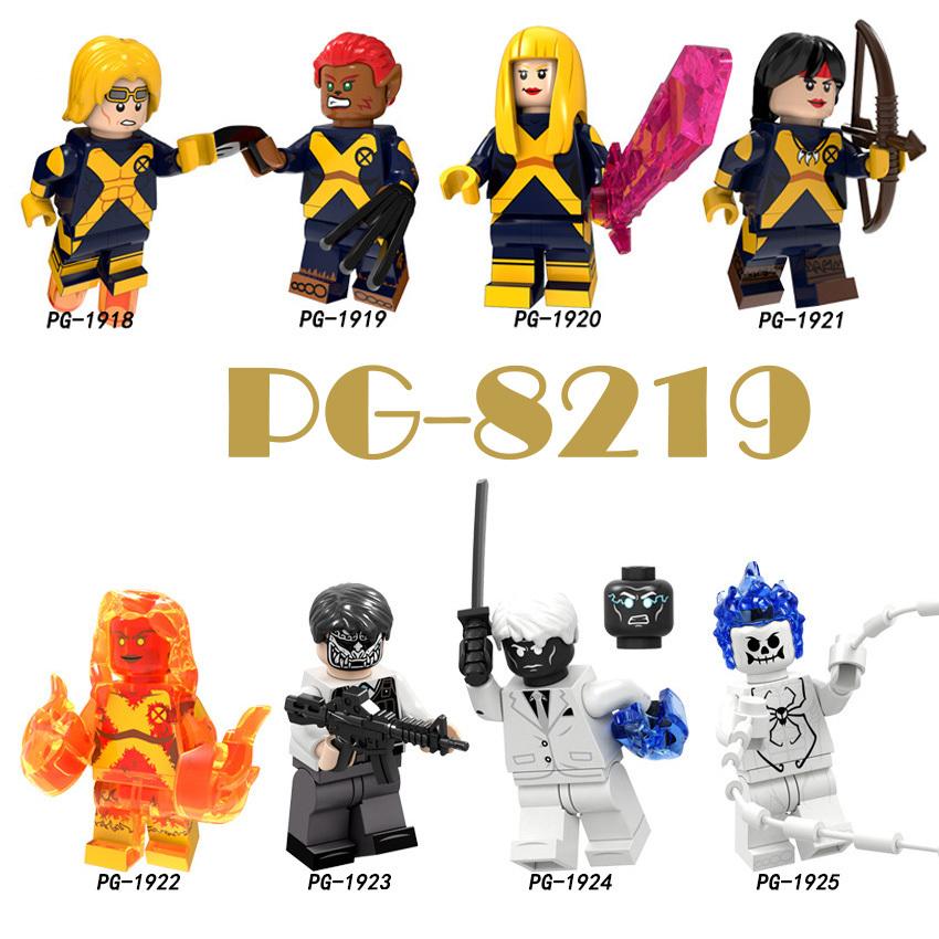 Pogo Superhero Series - PG8219 Mr. Negative Ghost Spider-Man Cannon Minifigures