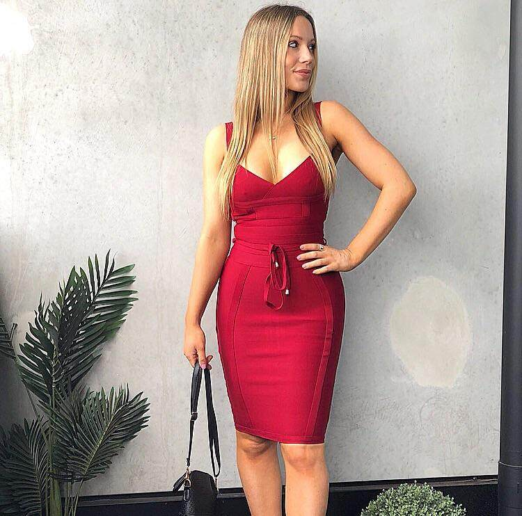 dfcd2bfd4ba ... knee length 2018 women's sexy newest arrival lace up bandage dress;  olive ...