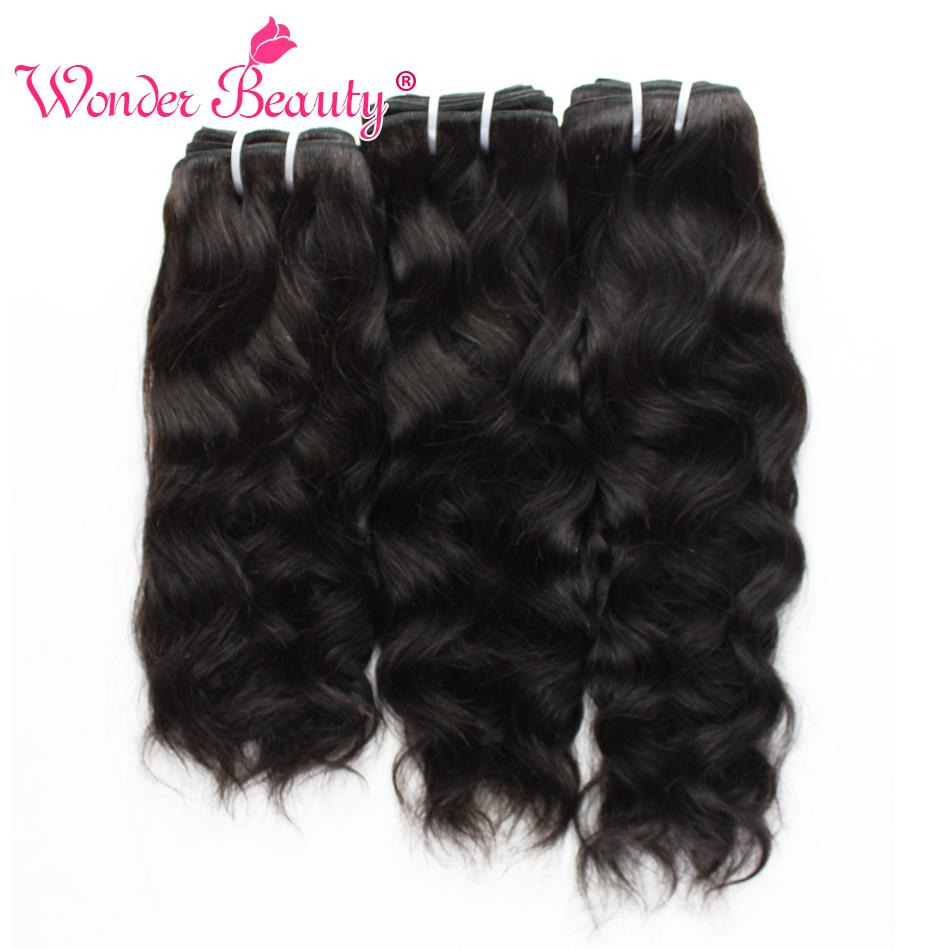 Braizlian Virgin Hair Wonder Beauty Natural Wave 4 Bundles Deal