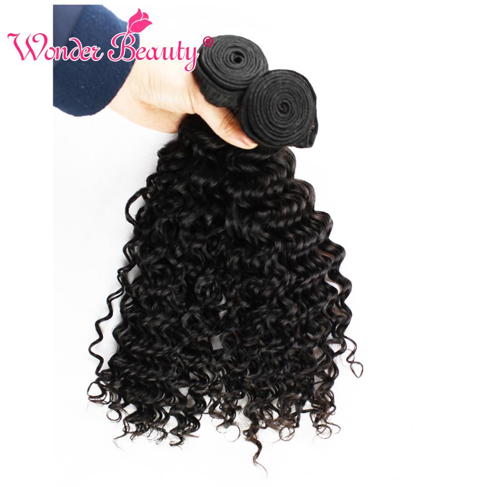 Benefit Malaysian Virgin Hair Weaves Deep Curly Human Hair Extension