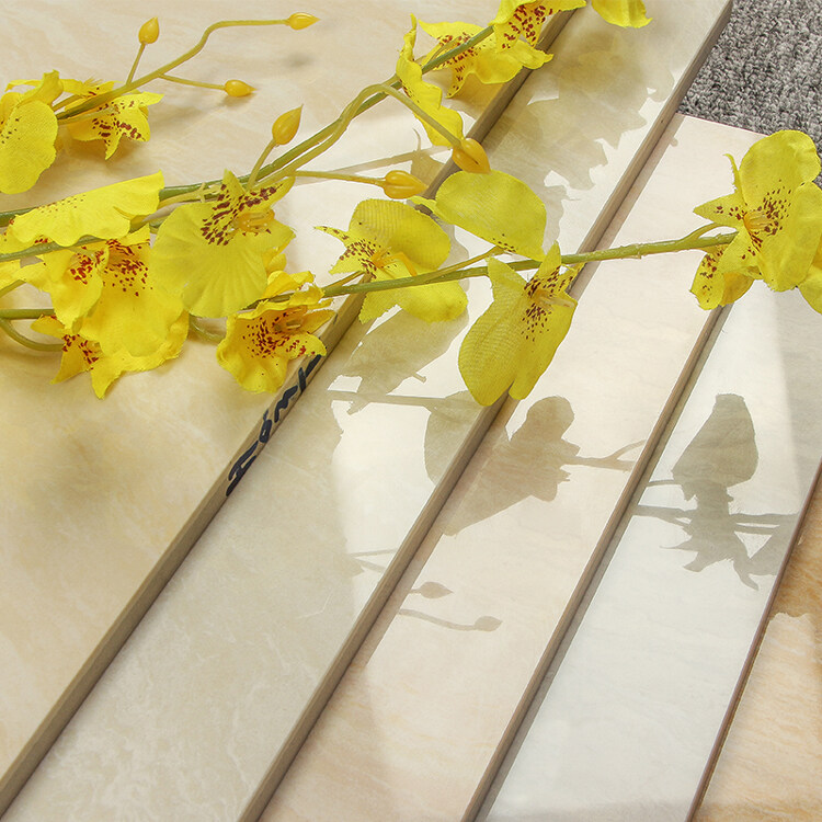 Brand New Design Wear-resistant Yellows Wall Floor  Porcelain Tile Restaurant Kitchen Floor Tiles