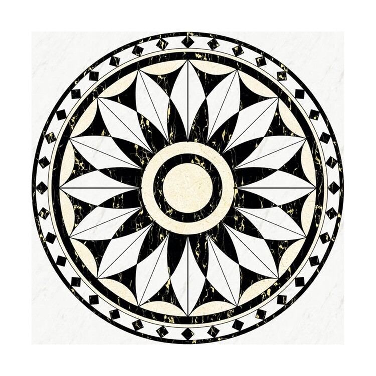 High Quality European Court Customization Stone Look Drawing Porcelain Tiles