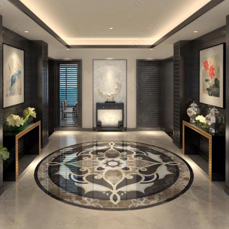 design porcelain stone look tiles customization living room yellow simple parquet floor tiles