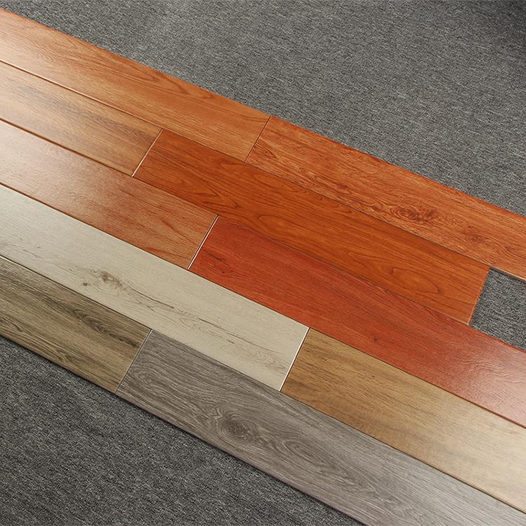 Hot Sale & High Quality Wood Glazed Porcelain Moistureproof Floor Tile Living Room Interior