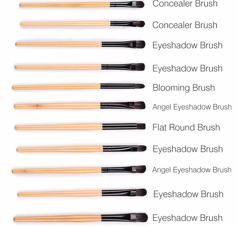 Stock Clearance !!! 32Pcs Print Logo Makeup Brushes Professional Cosmetic Make Up Brush Set The Best Quality! 2
