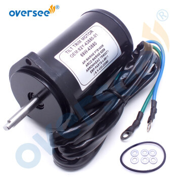 62Y-43880 Tilt Trim Motor Assy For YAMAHA Outboard Motor 40HP To 100HP 62Y-43880-01 62Y-43880-02 69W-43880