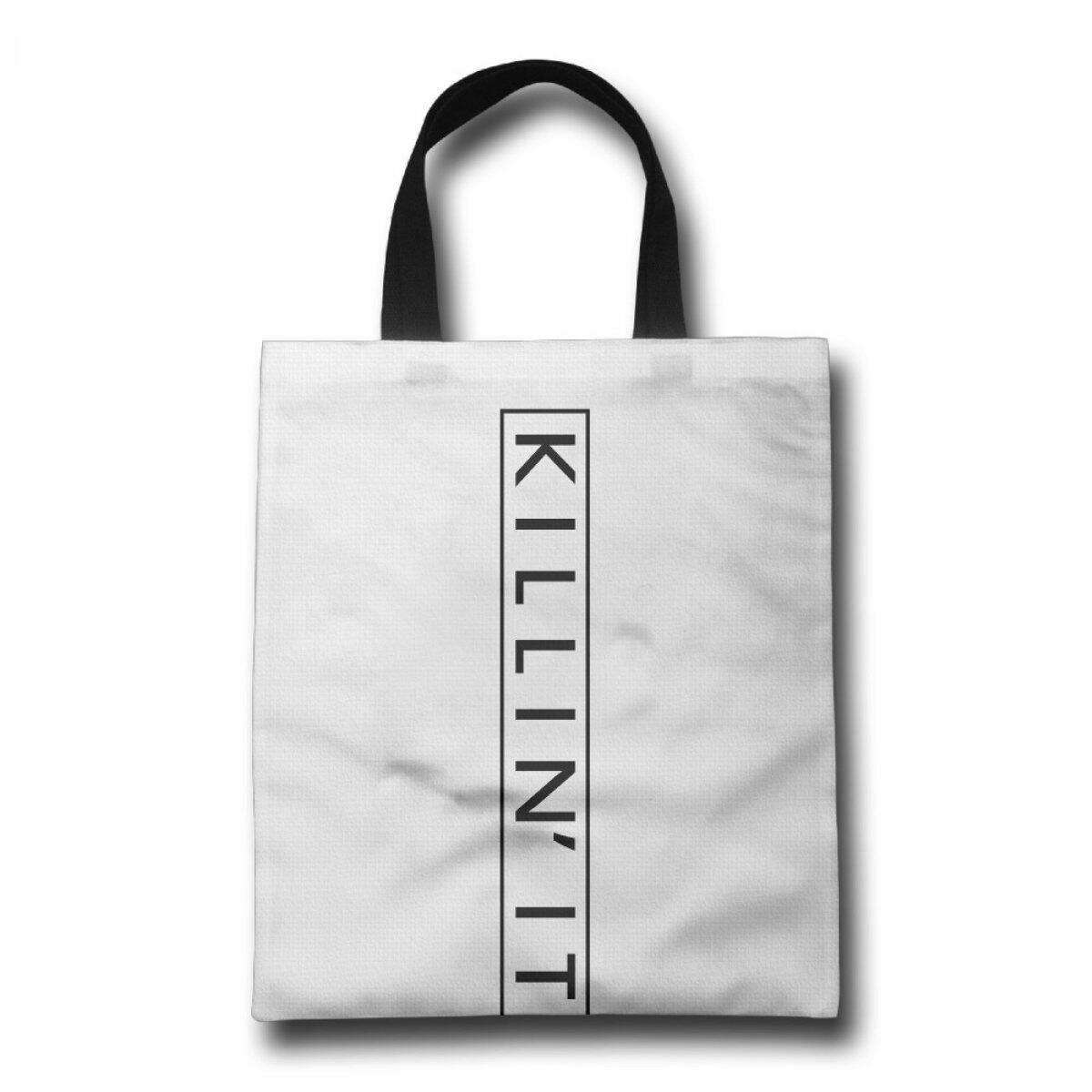 PhoRock Ladies Beach Tote Killin It Printed Canvas Tote Bag GWGX007 0