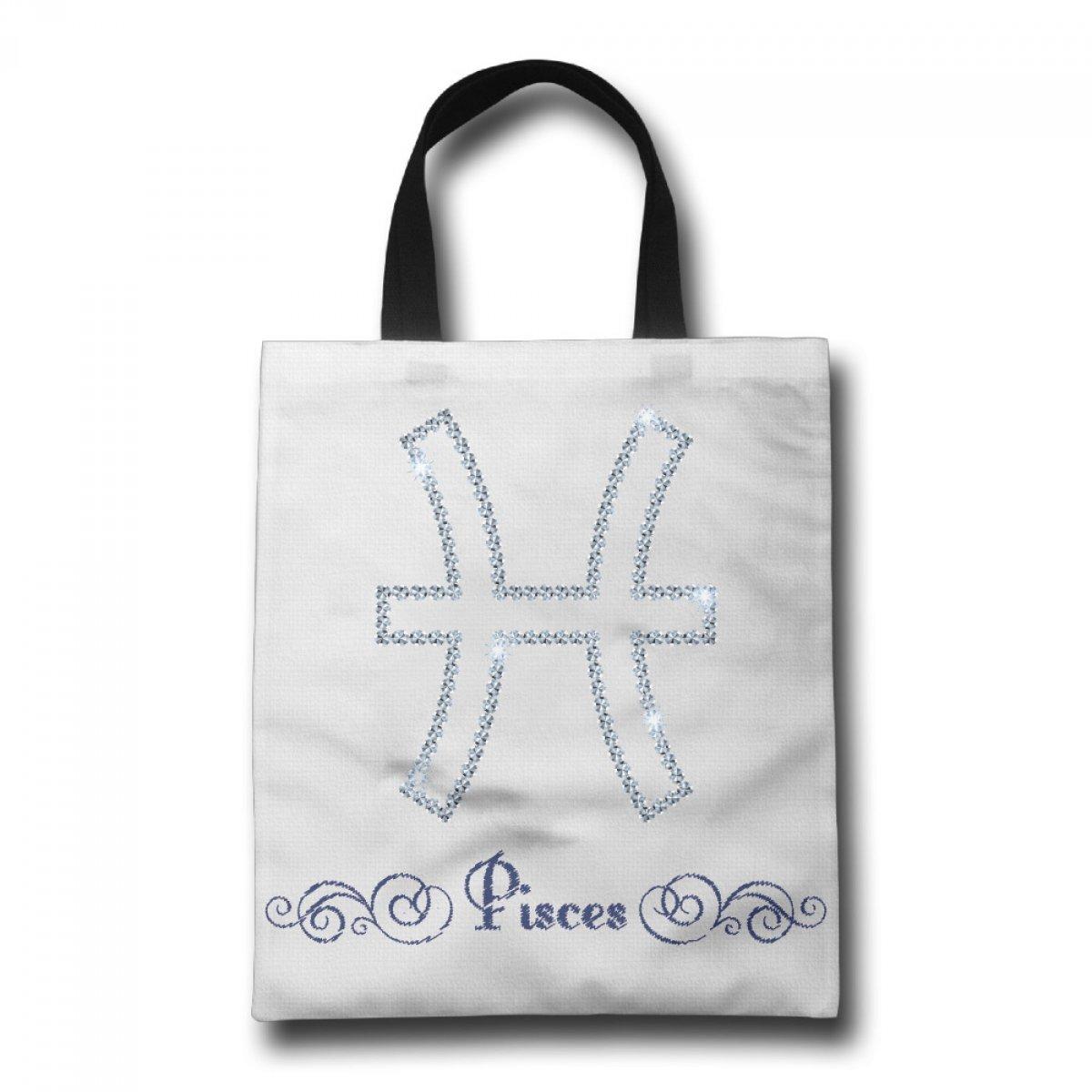PhoRock Ladies Canvas Tote Bag Piseces Printed Beach Tote GWXZ005 0