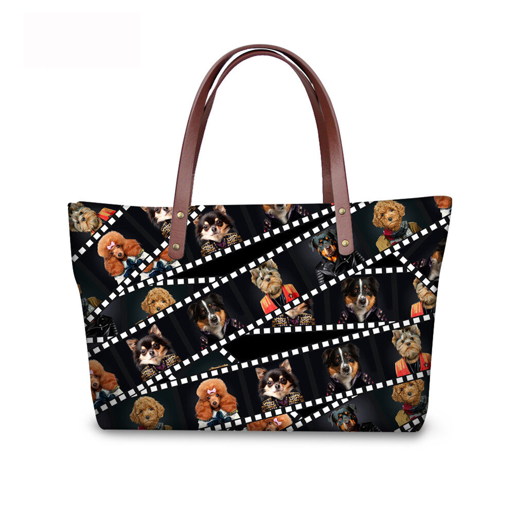 PhoRock Women 3D Kinds of Films Printed Large Tote Bag Handbag NKB3D015 5