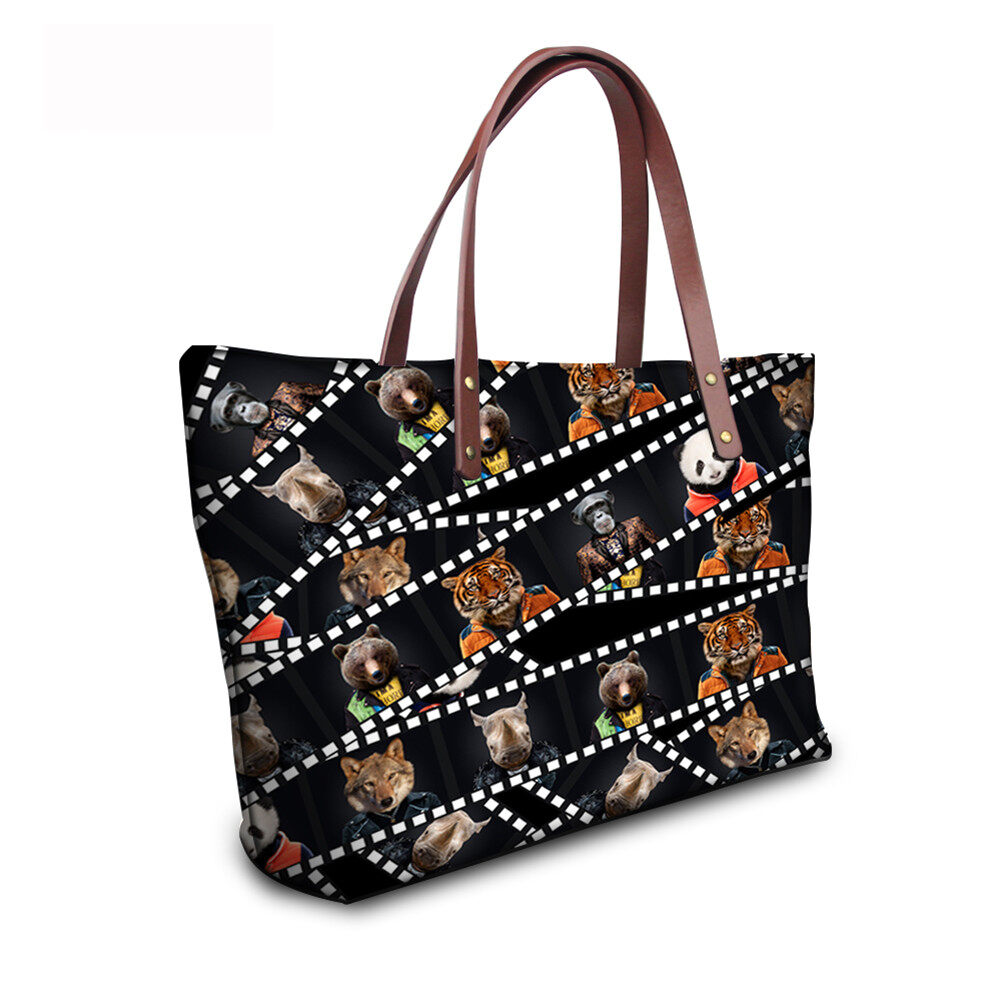 PhoRock Women 3D Kinds of Films Printed Large Tote Bag Handbag NKB3D015 11