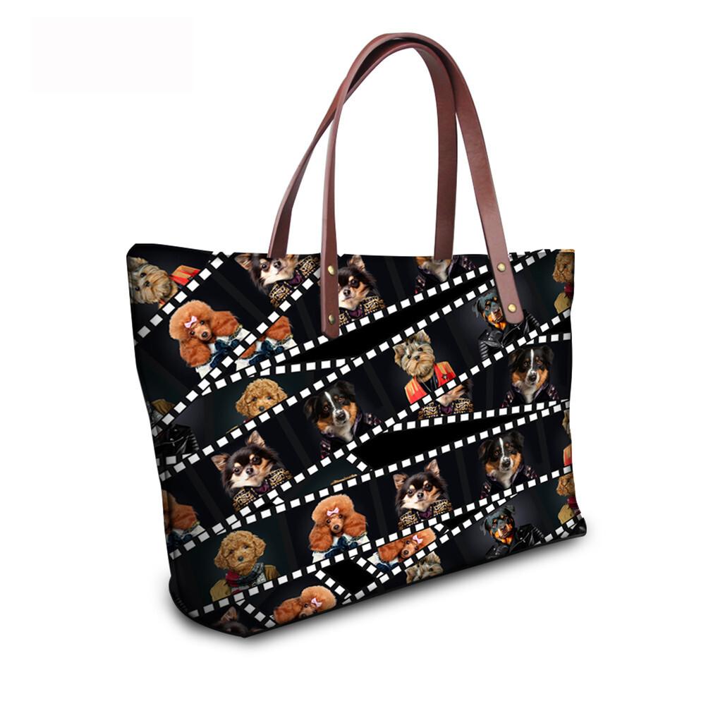 PhoRock Women 3D Kinds of Films Printed Large Tote Bag Handbag NKB3D015 13