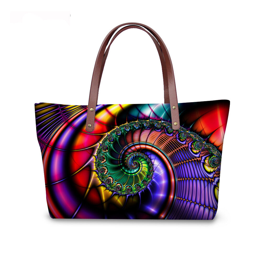 PhoRock Women Large Tote Bag 3D  Special Sight Printed Handbag NKB3D007 0