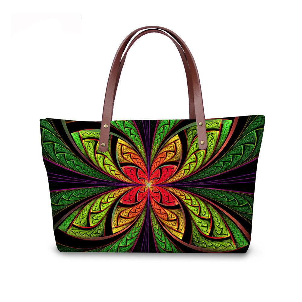 PhoRock Women Large Tote Bag 3D  Special Sight Printed Handbag NKB3D007 1