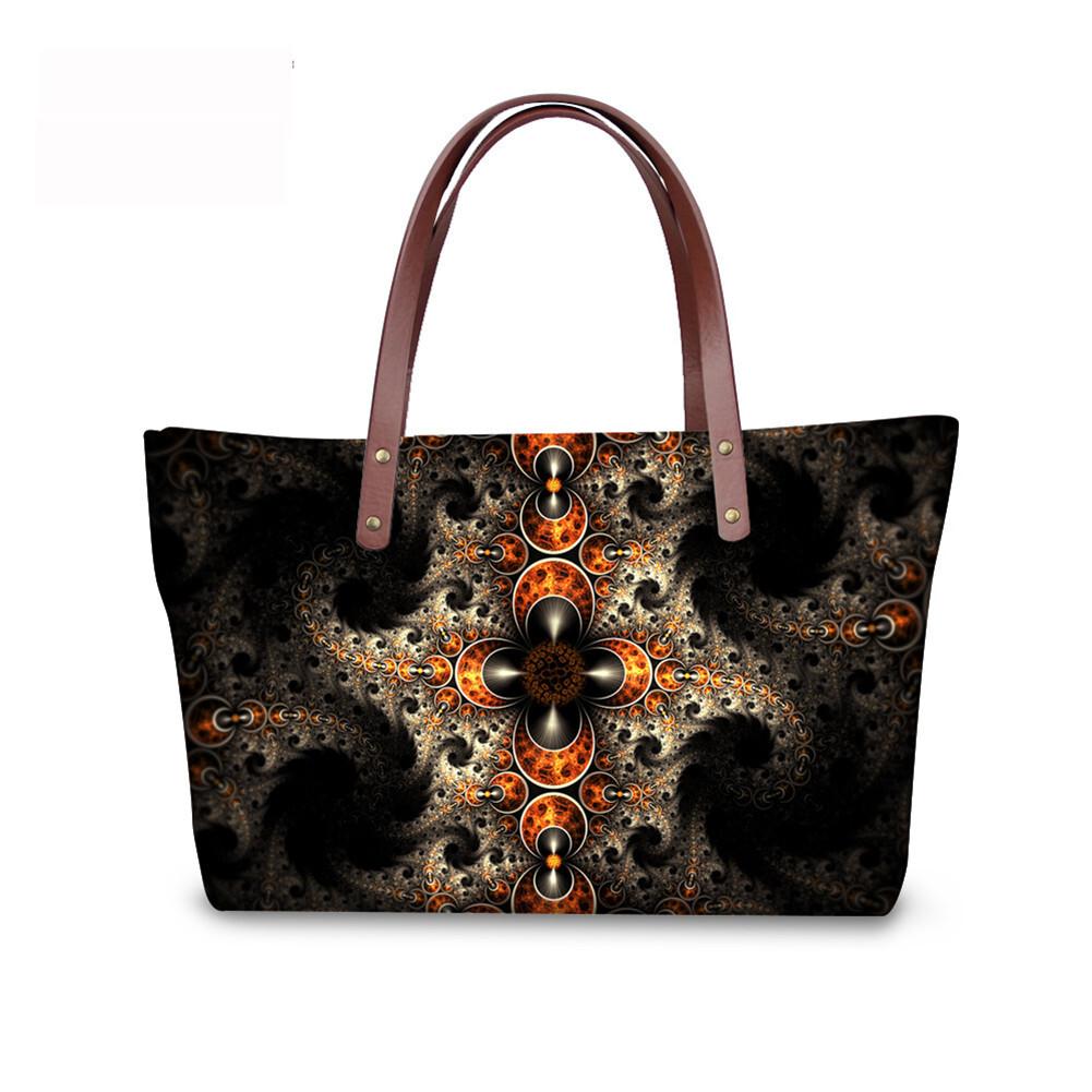 PhoRock Women Large Tote Bag 3D  Special Sight Printed Handbag NKB3D007 3