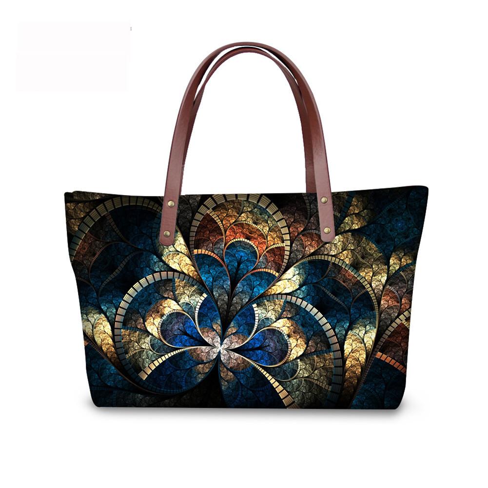 PhoRock Women Large Tote Bag 3D  Special Sight Printed Handbag NKB3D007 4