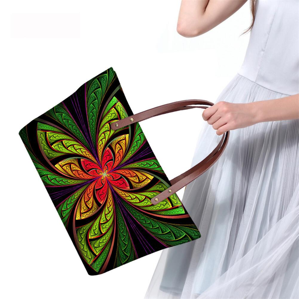 PhoRock Women Large Tote Bag 3D  Special Sight Printed Handbag NKB3D007 10