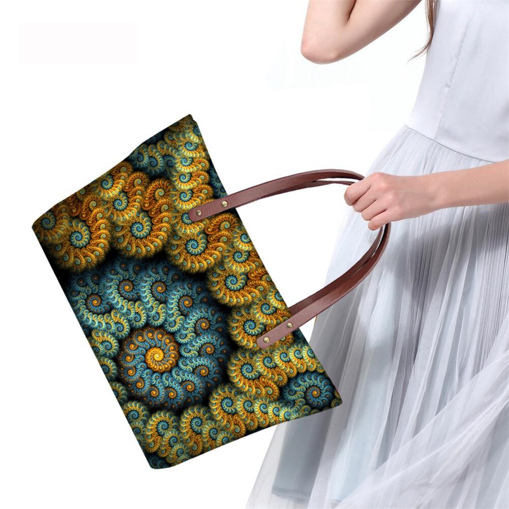 PhoRock Women Large Tote Bag 3D  Special Sight Printed Handbag NKB3D007 14