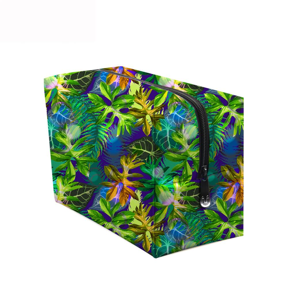 PhoRock Women Cosmetic Bag 3D Flowers and Birds Printed Handbag HZB3D022 8